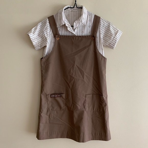 Girl Scouts Other - Vintage 90s Girl Scout Brownie Troop Uniform Set